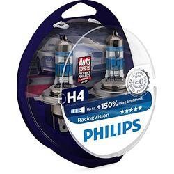 Philips RacingVision H4 - Bombillas para coche