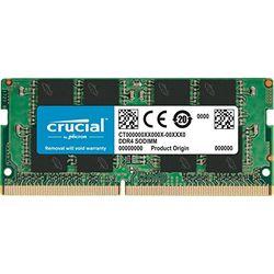 Crucial 8GB SODIMM DDR4-2400 CL17 (CT8G4SFS824A) - SODIMM