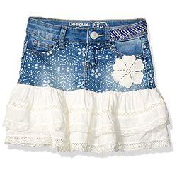 Desigual Calella (10811571) denim/white - Faldas y vestidos para niña