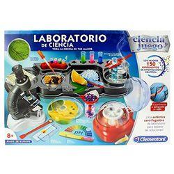 Clementoni Laboratorio de ciencia - Juegos de experimentos
