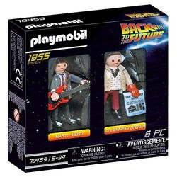 Playmobil Back to the Future – Marty Mcfly y Dr. Emmett Brown (70459) - Playmobil
