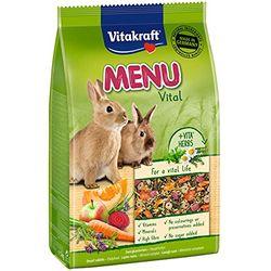 Vitakraft Premium Menu Vital for Small Rabbits - Comida para roedores, conejos y hurones