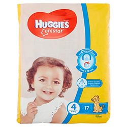 Huggies Unistar Maxi Size 4 (7-18 Kg) 18 pcs. - Pañales