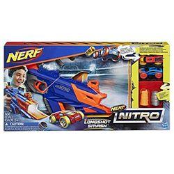 Nerf Nitro - LongShot Smash (C0784EU4) - Pistolas de juguete