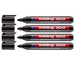 edding 300 black - Marcadores