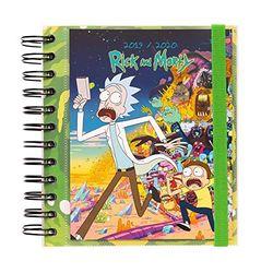 Erik Agenda escolar Rick & Morty DP (2019-2020) - Calendarios y agendas