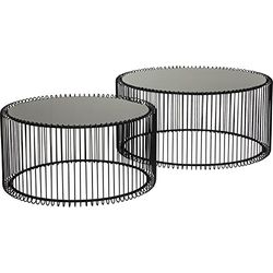 KARE Wire Coffee Table (Set of 2) - Muebles de diseño