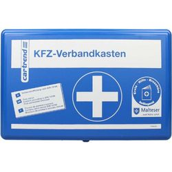 Cartrend First Aid Box Classic Blue - Primeros auxilios