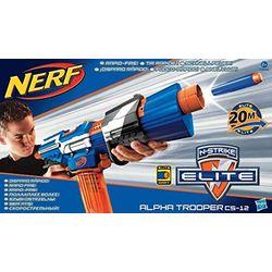 Nerf N-Strike Alpha Trooper CS-12 - Pistolas de juguete