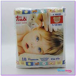 Comprar en oferta Trudi Baby Care Dry Fit Size 4 Maxi (7-18Kg) 18 pcs.