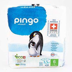 Pingo Ultra Soft Size 6 (16-30 kg) - Pañales