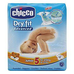 Chicco Dry Fit Junior talla 5 (12-25 kg) ) 17 pcs - Pañales