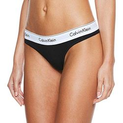 Calvin Klein Modern Cotton Thong - Ropa interior femenina