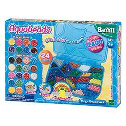 Aquabeads Mega Pack 2400 - Juguetes de perlas y abalorios