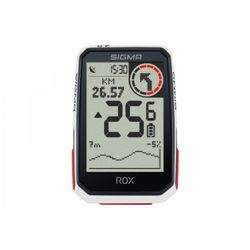 Sigma ROX 4.0 GPS Bike white - Ciclocomputadores