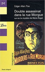 Double assassinat dans la rue Morgue de Edgar Allan POE ()