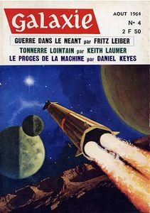 Galaxie (2ème série) n° 4 de Fritz LEIBER, Keith LAUMER, Philip K. DICK, Cordwainer SMITH, James McCONNELL, Damon KNIGHT, Daniel KEYES ()