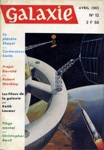 Galaxie (2ème série) n° 12 de Christopher ANVIL, Keith LAUMER, Cordwainer SMITH, Robert SHECKLEY, Dan CARROLS ()