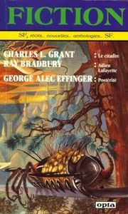Fiction n° 411 de Daniel WALTHER, Charles L. GRANT, Ray BRADBURY, George Alec EFFINGER, Michel LAMART, Frederik POHL, Ray ALDRIDGE, Garry KILWORTH, Kevin H. RAMSEY, Eric J. BLUM, Richard COMBALLOT, Jean-Pierre ANDREVON, Charles MOREAU ()