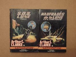 Lot : SOS Lune 1 & 2 de Arthur C. CLARKE (Anticipation)