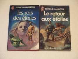 Lot Saga des étoiles de Edmond HAMILTON ( J'ai lu Science-fiction )