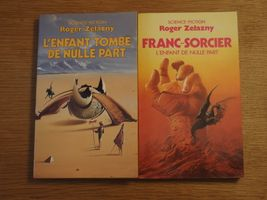 Lot : L'Enfant de nulle part de Roger  ZELAZNY (Pocket SF)