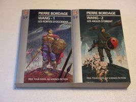 Lot : Wang 1 & 2 de Pierre BORDAGE (J'ai Lu SF)