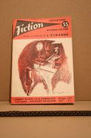 Fiction n° 55 de Jacques BERGIER, Pierre VERSINS, John Dickson CARR, Robert BLOCH, Jehanne JEAN-CHARLES, Ray RUSSELL, Anthony BOUCHER, Philippe  CURVAL, Lester DEL REY, Evelyn E. SMITH, G.C. EDMONDSON, Cyril M. KORNBLUTH, Alain DORÉMIEUX, Igor B. MASLOWSKI, F. HODA, Forres (Fiction)