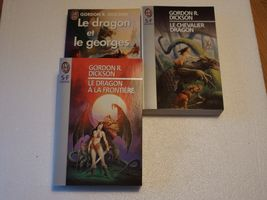 Lot : Le dragon et le Georges de Gordon Rupert DICKSON (J'ai Lu SF)