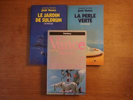 Lot : Le cycle de Lyonesse de Jack  VANCE (Pocket SF)
