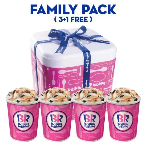 Baskin Robbins - Ice Cream (Same Day Delivery)