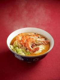Big Prawn Shrimp Ramen 大虾赤汤面