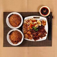 Braised Set with Rice for 2 pax
