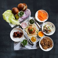 Build Your Own Burger Set (Pork)