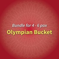 Bundle for 4-6 pax Olympian Bucket (with 1 sauce)