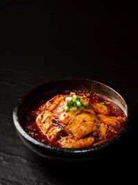 "重庆口水鸡 ""Chong Qing"" Chilled Chicken with Spicy Bean Paste"