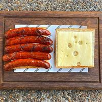 Chorizo Sausage and Emmental Cheese
