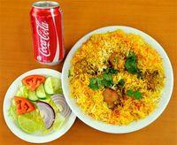 Combo Hyderabadi Chicken Biryani (With Bone) 3-4pax & 2coke