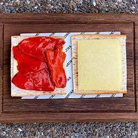 Confit Piquillo Peppers with Manchego Cheese