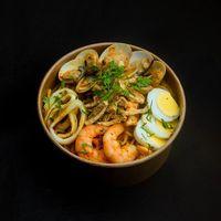 Dry Seafood Laksa Spaghetti
