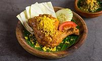 Fried Chicken in Green Chili (Ayam Cabe Ijo)