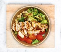 Grilled Sous Vide Chicken Bowl