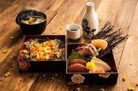 MARUKYU Special Chirashi Sushi Rice Bento