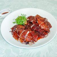 Marinated Smoked Whole Duck, Chinese Tea Leaf