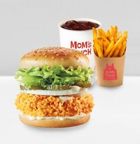 Mom's Thigh Burger Combo Meal