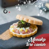 Monaka caviar