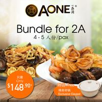 【Mother's Day】Bundle for 2A (4-5 Pax)