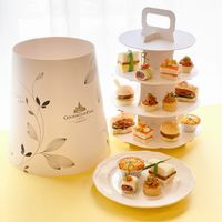 NEW! 3-Tier Savoury Satisfaction Set (discount not available)