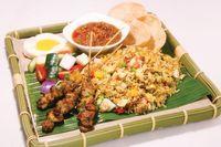 Nasi Goreng w Satay Set 沙爹炒饭