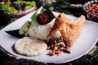 Nasi Lemak Chicken Wing Set